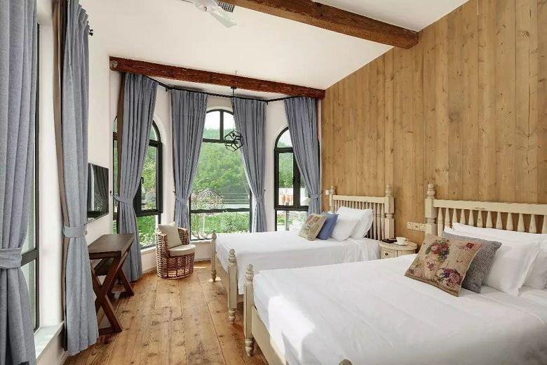 莫干山十八迈:欧美乡村风的城堡民宿