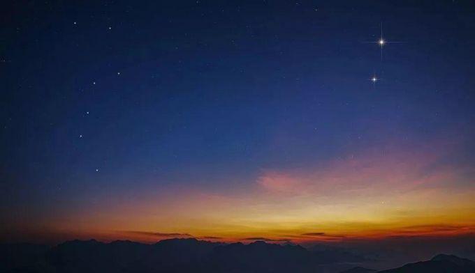 楠溪江凡璞山社,在茶园坑看星空
