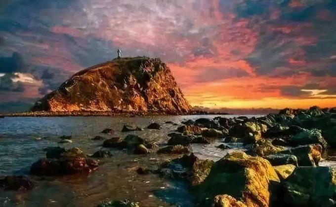 岱山岛九间房民宿:赴一场有山与海,礁石与霞光的约会