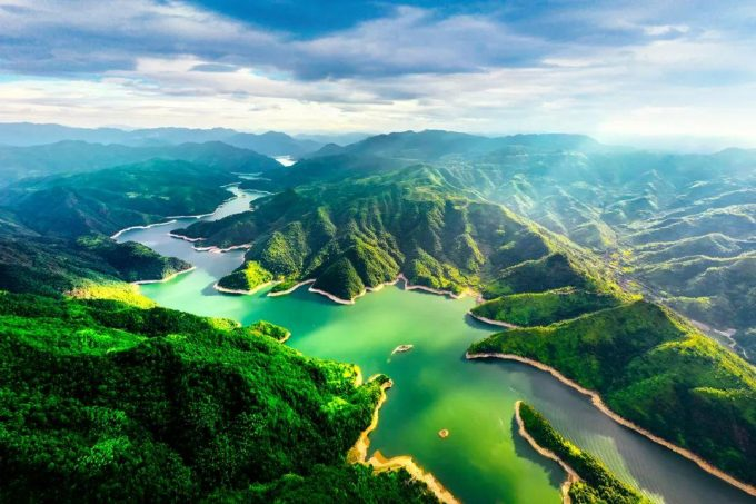 景宁逸江南民宿,千峡湖畔的神仙民宿