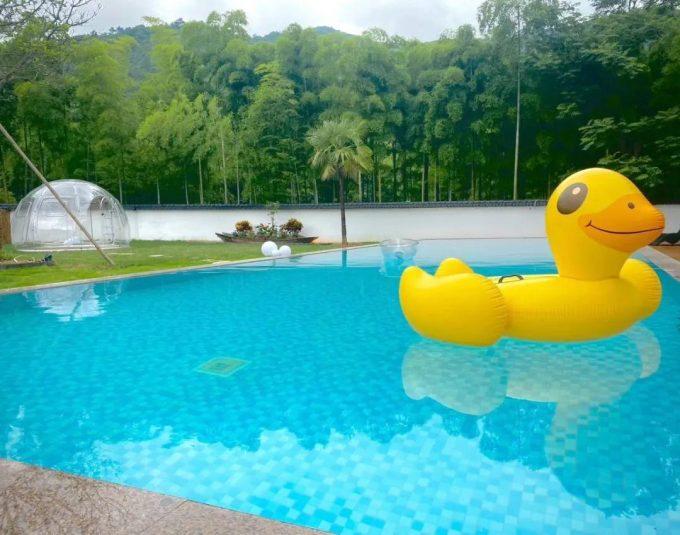 长兴水口归心温泉度假民宿,周末度假安静的味道